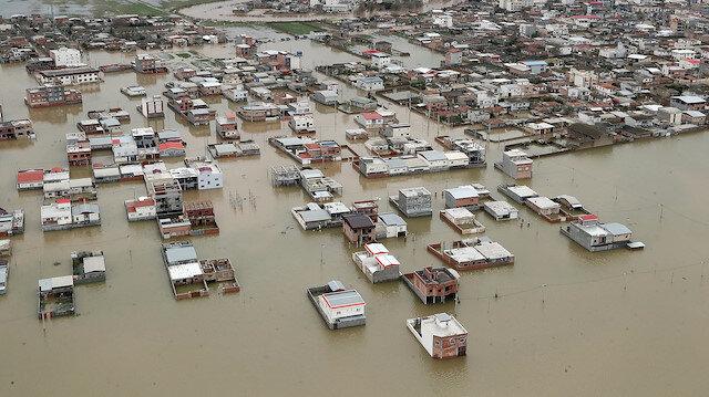 İran'daki sel felaketinin bilançosu 170 milyon dolar