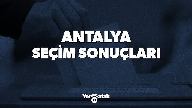 Antalya seçim sonuçları.