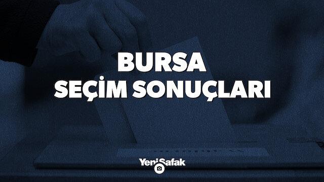 Bursa seçim sonuçları.