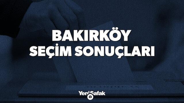 İstanbul Bakırköy Yerel Seçim Sonuçları