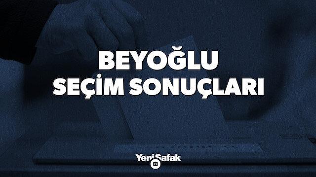 İstanbul Beyoğlu Yerel Seçim Sonuçları
