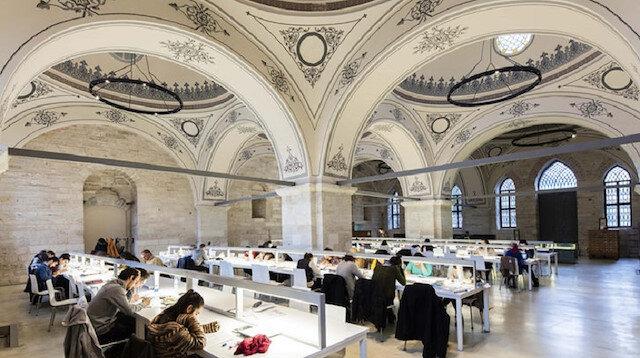 Beyazıt Devlet Kütüphanesi dünyada ilk 10da