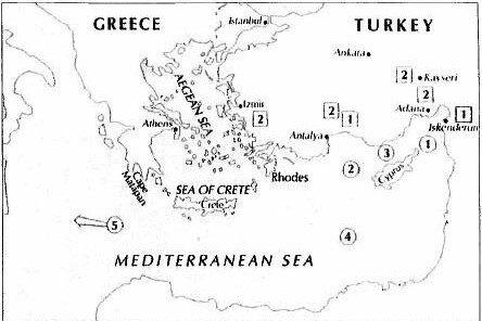 Kıbrıs güneyindeki ABD uçak gemisi Harry S. Truman ile Doğu Akdeniz'deki Amerikan savaş gemileri Türkiye'ye karşı pozisyon alıyor.