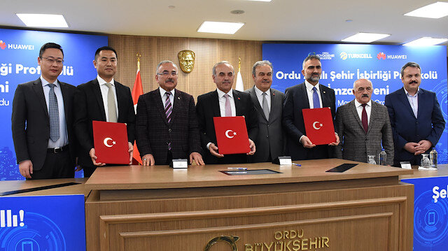 Turkey, Huawei sign protocol on smart cities