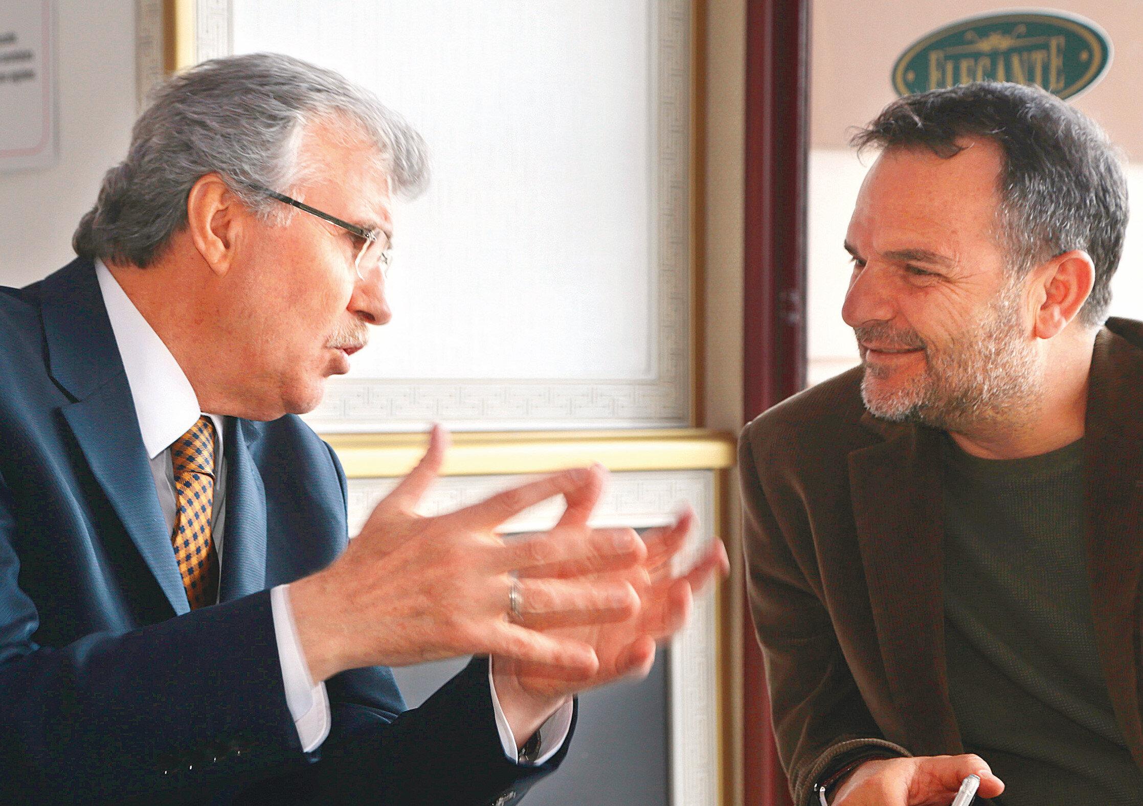 Ekrem Yüce (Solda) ve Kemal Öztürk
