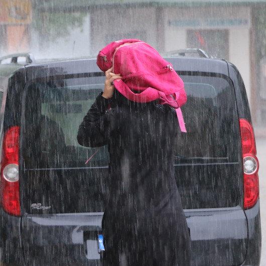 6 ile kuvvetli yağış uyarısı