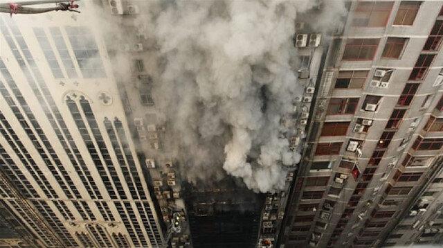 Fire in a high-rise building in Bangladesh's capital Dhaka