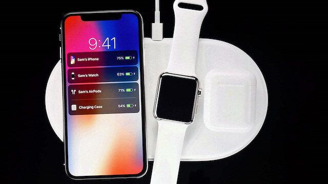Apple kablosuz şarj cihazı AirPower'ı Eylül 2017'de duyurmuştu.