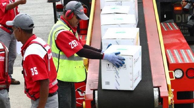 Çin'in yardımları Venezuela'ya ulaştı