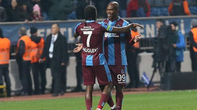 Trabzonspor'un attığı 45 golün 27'sine bu ikili direkt katkı yaptı.