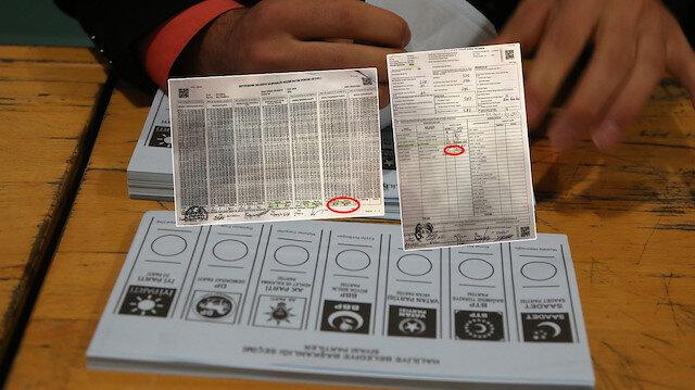 İstanbul'daki yerel seçimlerdeki sandık tutanaklarında çok sayıda usulsüzlük tespit edildi.
