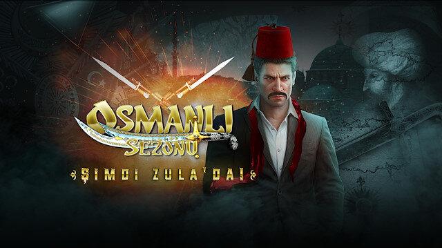 Zula'nın Osmanlı sezonu için hazırladığı tanıtım görseli.