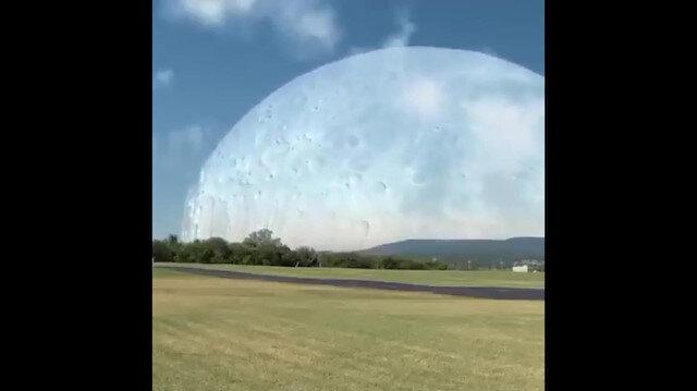 Ay Dünya'ya UUİ kadar yakın olsaydı böyle görünecekti