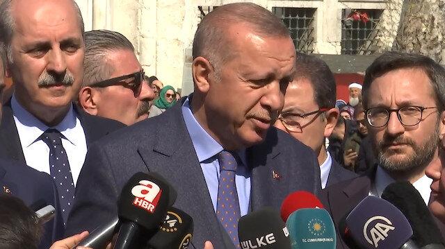 Erdoğandan İmamoğluna Anıtkabir özel defteri tepkisi