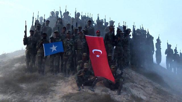Milli Savunma Bakanlığından Türkiye-Somali askeri eğitim videosu