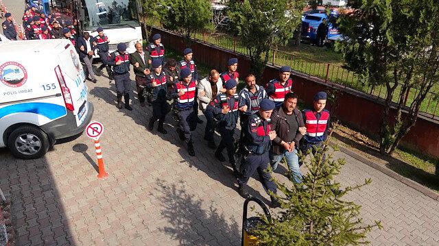 Sakarya'da silah operasyonu: 8 gözaltı