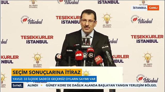 AK Partili Yavuz yeni rakamları açıkladı