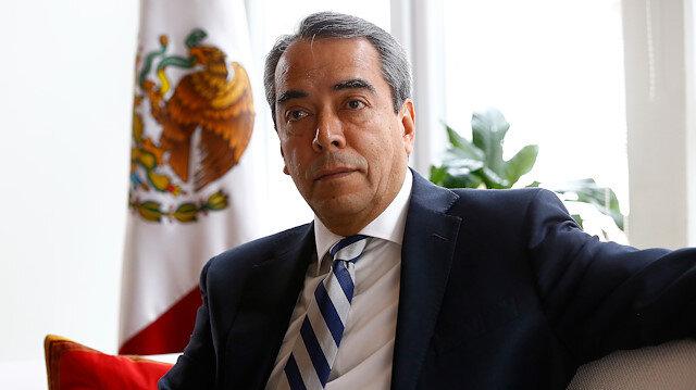Mexico's ambassador to Turkey Bernardo Cordova