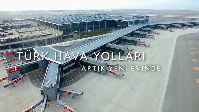 Türk Hava Yollarından taşınma sonrası ilk video klip