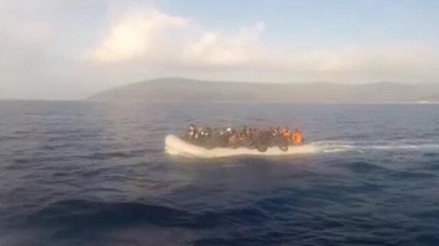 İzmirde kaçak göçmenler böyle yakalandı