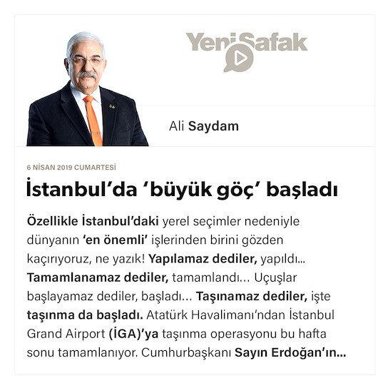 İstanbul'da 'büyük göç' başladı