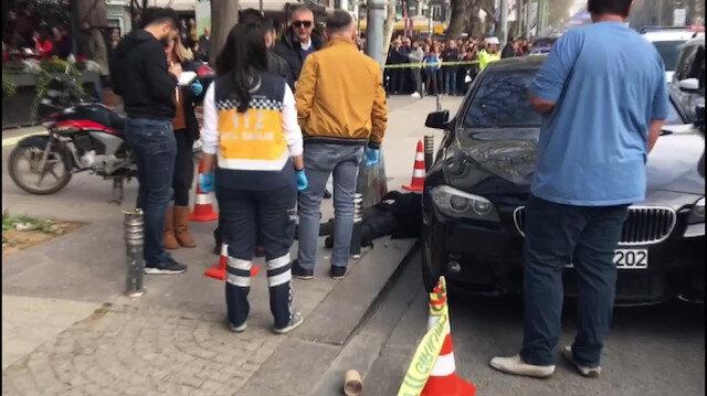 Kadıköy Bağdat Caddesinde cinayet