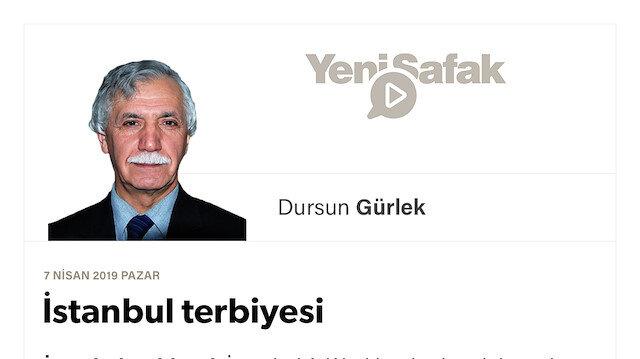 İstanbul terbiyesi