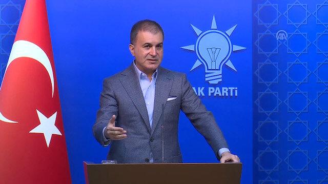 AK Parti Sözcüsü Ömer Çelik: İsrail Başbakanı, yine pervasız saldırganlığını ortaya koydu