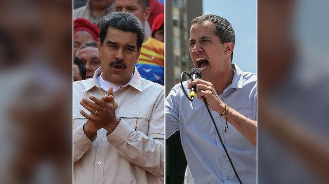 Maduro diyaloğa Guaido sokağa çağırdı