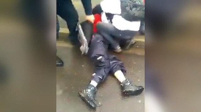 Sarı Yelekliler eyleminde tepki çeken polis şiddeti