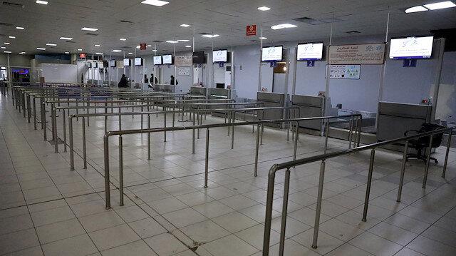 Libya'daki Mitiga Havalimanı'nda seferler askıya alındı