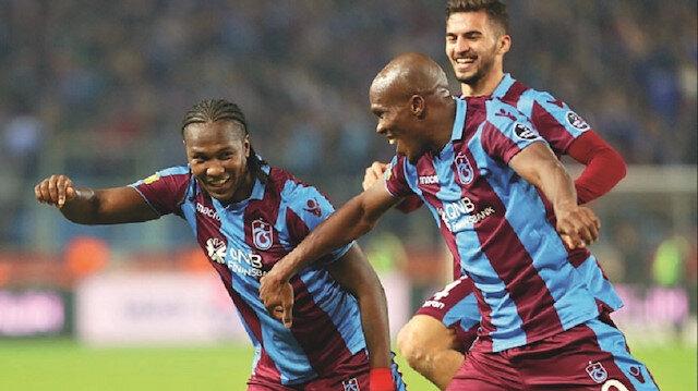 Nwakaeme, bu sezon Trabzonspor formasıyla ligde çıktığı 20 maçta 9 gol atıp, 4 de asist yaptı.