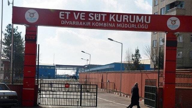 Diyarbakır'da Et ve Süt Kurumuna EYP'li saldırı düzenlendi