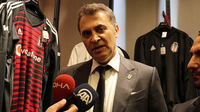 Beşiktaş Başkanı Fikret Orman.