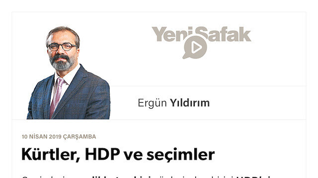 Kürtler, HDP ve seçimler