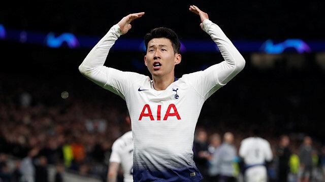 Son, Tottenham'ın yeni stadında takımı adına ilk golü atan isim oldu.