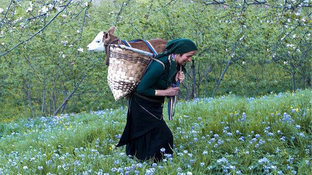Karadenizin çalışkan kadınları
