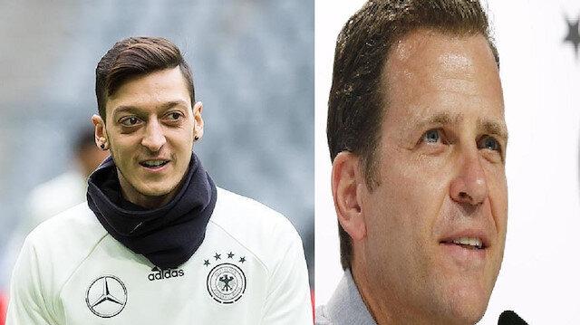 مدير منتخب ألمانيا يعترف بارتكاب أخطاء في التعامل مع أوزيل ماذا قال؟
