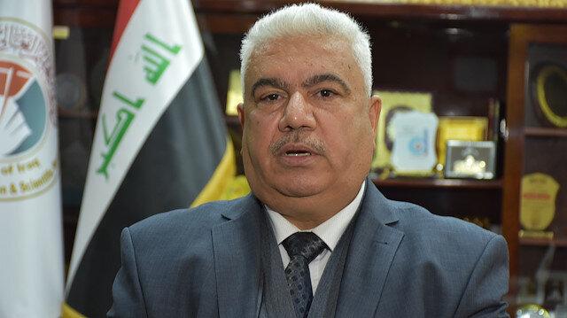 Kerkük Üniversitesi Rektörü Prof. Dr. Abbas Taki