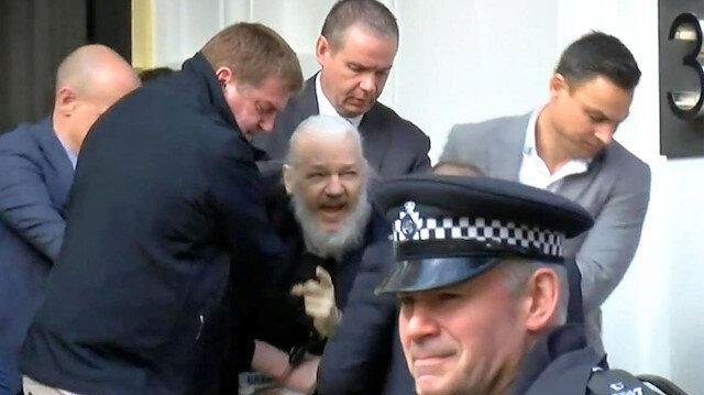 Wikileaksin kurucusu Assange tutuklandı