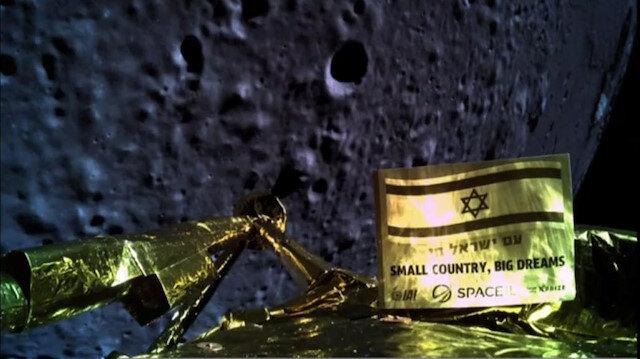 İsrail'in Ay'a inme girişimi başarısız oldu