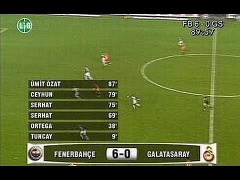 Tarihe geçen maçta nFenerbahçe'nin gollerini, Tuncay Şanlı, Ariel Ortega, Serhat Akın (2), Ceyhun Eriş ve Ümit Özat kaydetmişti.