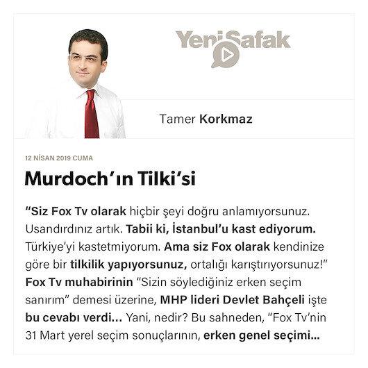 Murdoch'ın Tilki'si