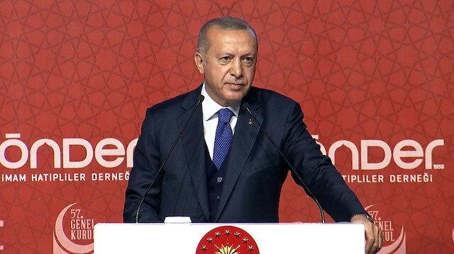Erdoğan, cezaevindeyken oğluna yazdığı mektubu okudu