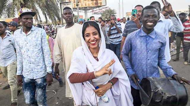 Sudan'da sembol oldu