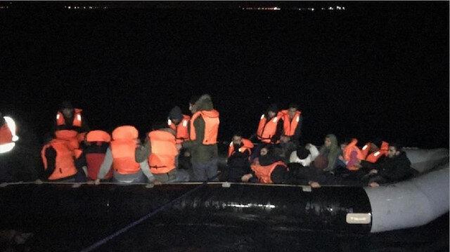 ضبط 53 مهاجرا غير نظامي غربي تركيا