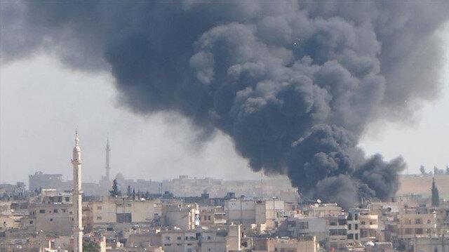 إصابة 5 مدنيين في غارة للنظام السوري على إدلب