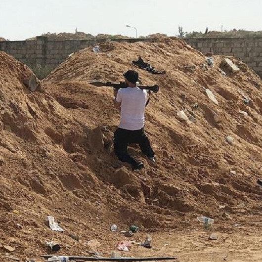 Libya'da General Hafter'e bağlı savaş uçağı düşürüldü