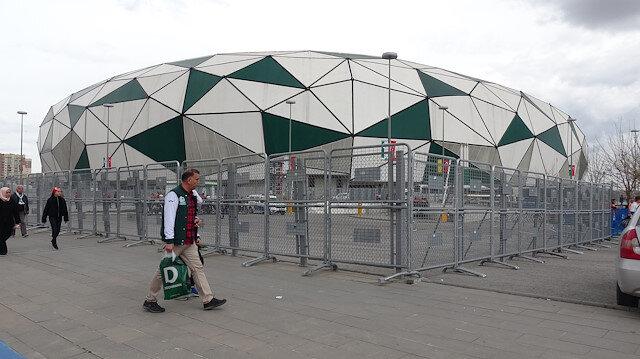 Teröristlerin üzerinden Konya Büyükşehir Stadyumu'nun fotoğrafları çıktı.