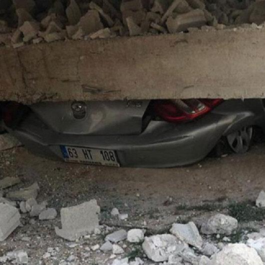Viranşehir'de ev çöktü: 1 ölü 2 yaralı